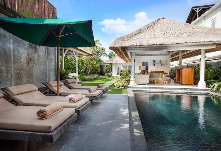 Serene Villas, Seminyak, Villa, 2 Bedrooms Private Pool (Acacia), View from room