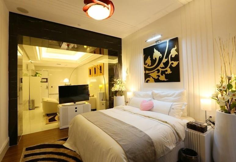 Six Star Motel Shenzhen Longgang, Shenzhen, Deluxe-Zimmer, Zimmer