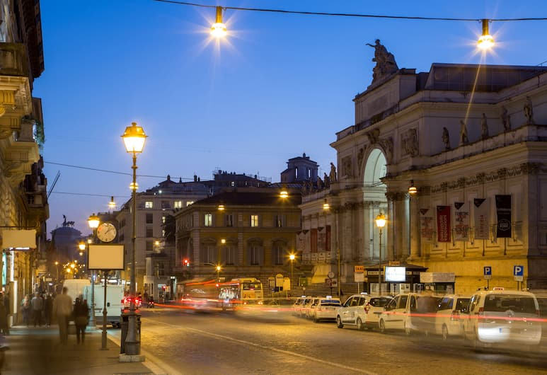 Roma Central Guest House, Rome, Buitenkant