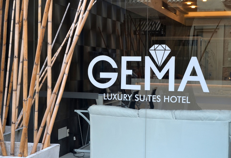 Gema Luxury Suites, Montevideo, Vchod