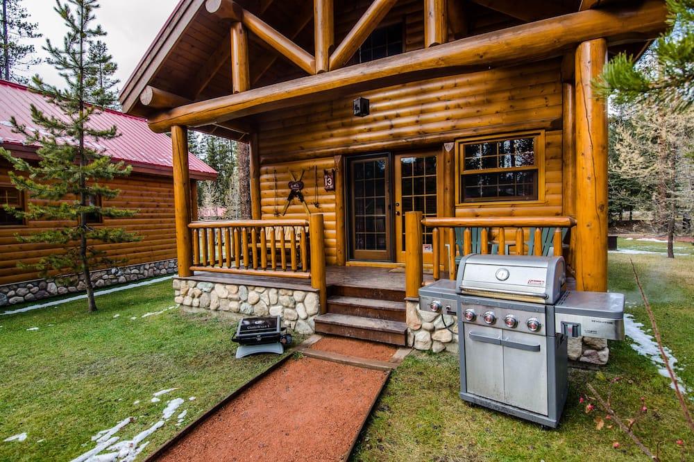 Premier kunyhó, 1 hálószobával, hidromasszázskád, kerti - Erkély