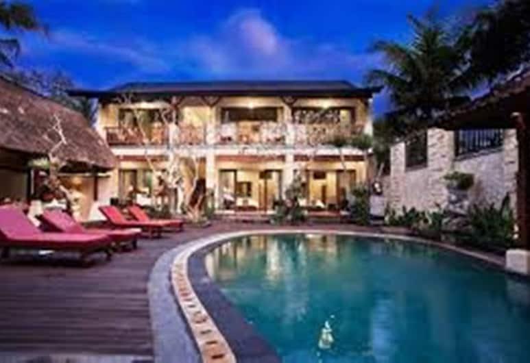 朗邦沙麗別墅, 烏布, 室外游泳池