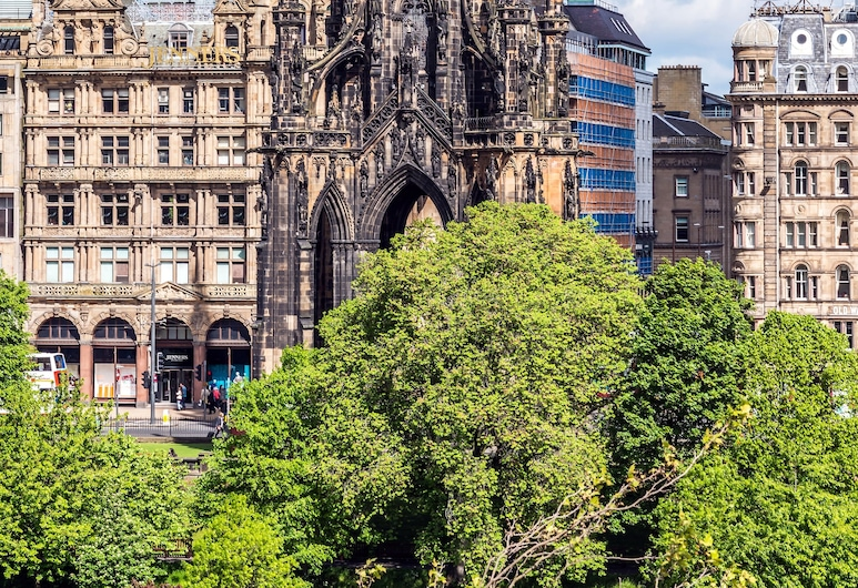 Motel One Edinburgh-Princes, Edinburgh, Blick vom Hotel