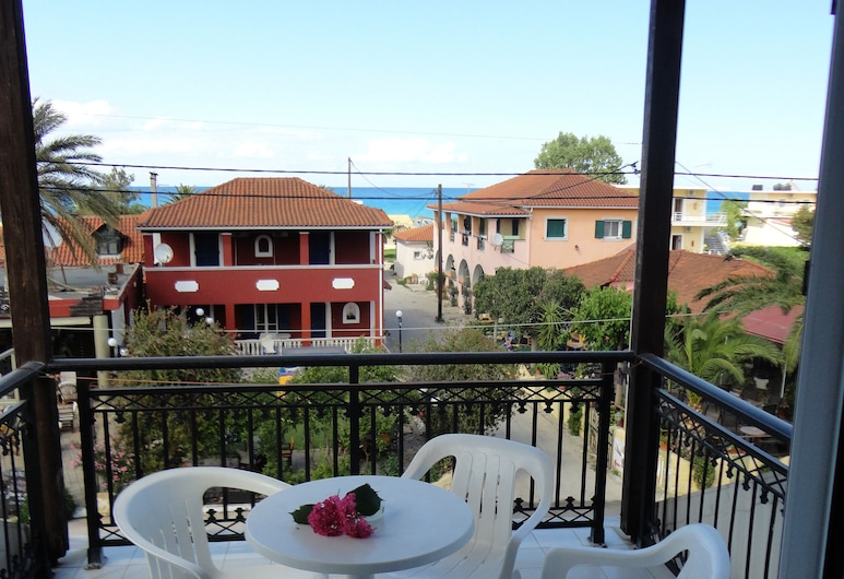 Montes Studios and Apartments, Zakynthos, Basic Triple Room, 1 Bedroom, Balcony, Sea View, Balcony