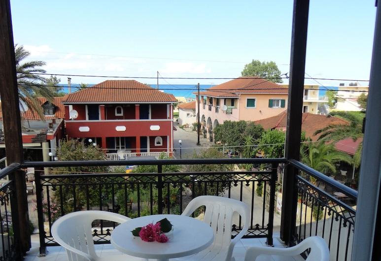 Montes Studios and Apartments, Ζάκυνθος, Basic Τρίκλινο Δωμάτιο, 1 Υπνοδωμάτιο, Μπαλκόνι, Θέα στη Θάλασσα, Μπαλκόνι