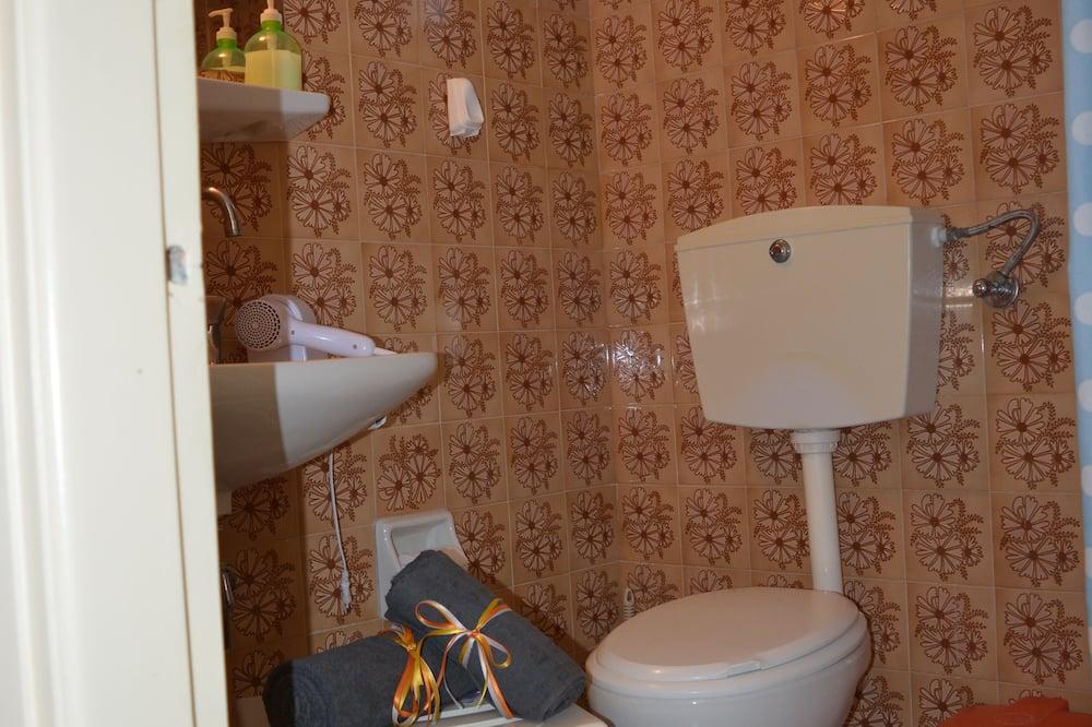 Dvojlôžková izba typu Basic, 1 spálňa, nefajčiarska izba, výhľad na hory - Kúpeľňa