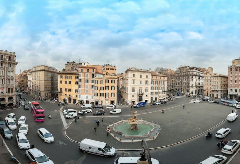 La Dolce Vita Barberini, Rom, Doppelzimmer, Ausblick vom Zimmer