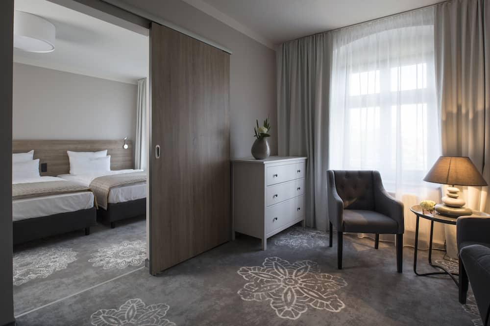Standard-Apartment, 1 Doppelbett - Wohnbereich