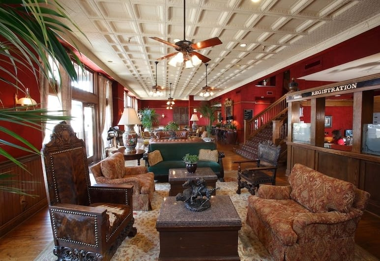 Stockyards Hotel, Fort Worth, Lobby