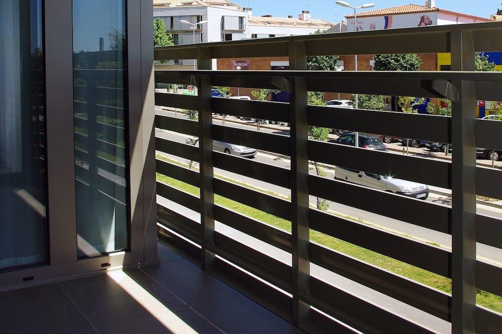 Apartamentai, 1 miegamasis (2 adults and 2 children) - Balkonas