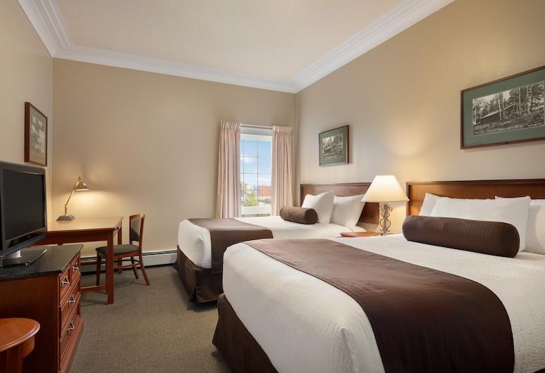 スタントン スイーツ ホテル イエローナイフ, イエローナイフ, スタンダード ルーム クイーンベッド 1 台, 部屋