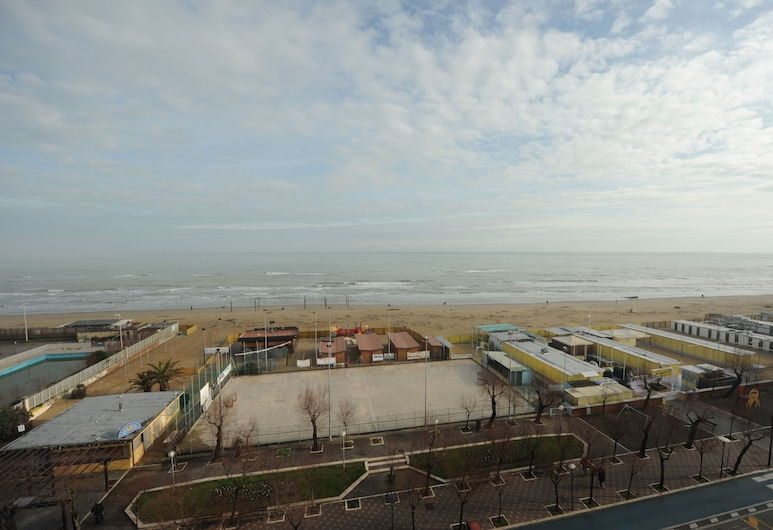 Hotel Mare, Pesaro, View from Hotel