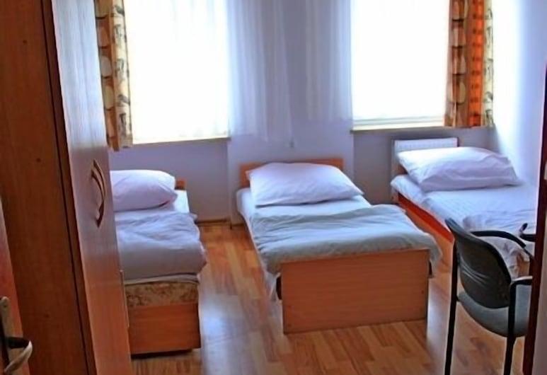 Hostel Firlik, Szczecin, Chambre Triple, salle de bains commune, Chambre