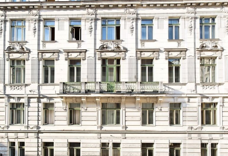 Hotel Post, Wien, Hotellentré