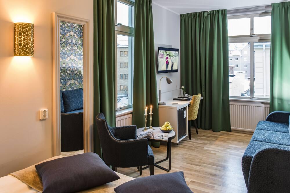 Habitación estándar con 2 camas individuales - Sala de estar
