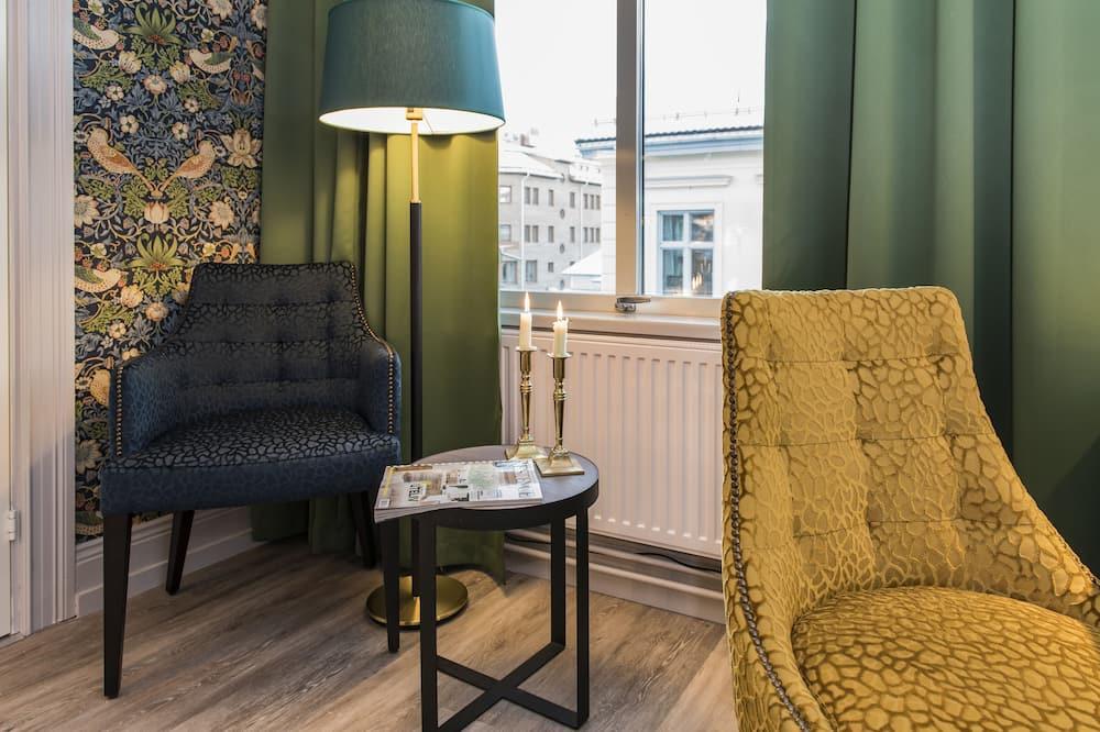 Habitación doble económica - Sala de estar