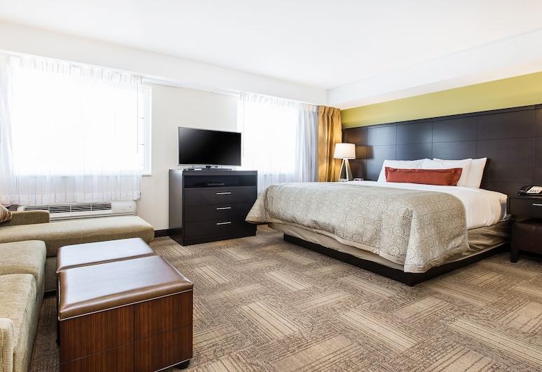 Staybridge Suites West Edmonton, Edmonton, Standard Room, Kitchen, Room