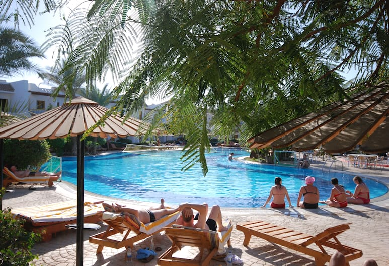 Dive Inn Resort, Sharm el-Sheikh, Solterrasse