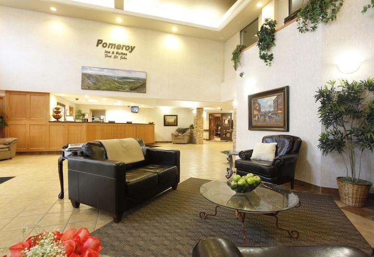 Pomeroy Inn & Suites Fort St. John, Fort St. John, Priestory na sedenie v hale