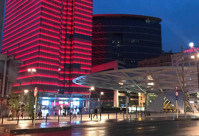 Royal Hotel, Bruxelles, Restauration en terrasse