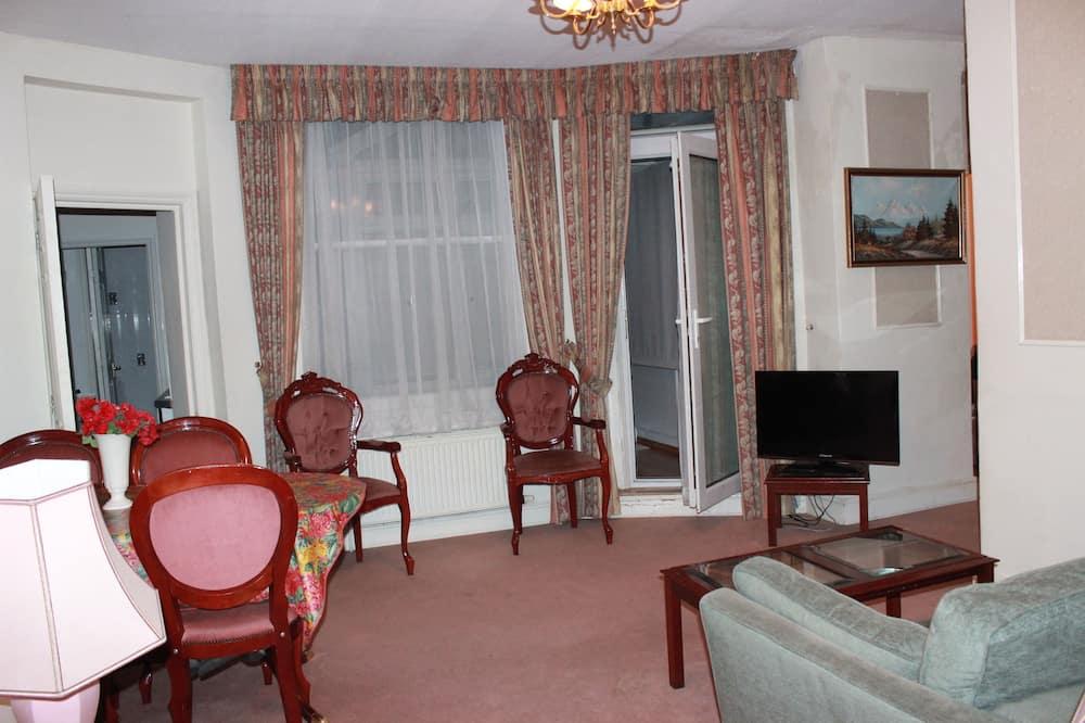 標準公寓, 3 間臥室, 2 間浴室 (6-8 People, St3) - 客廳