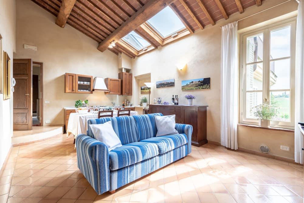 Διαμέρισμα, 1 Υπνοδωμάτιο (4 Adults) - Περιοχή καθιστικού