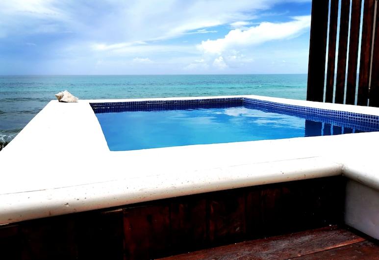 Luna D' Miel Suites, Isla Mujeres, Bazén na střeše