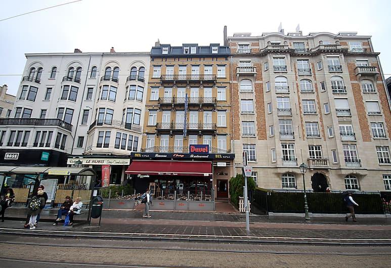 Hotel Derby, Bruxelles, Hotellets facade
