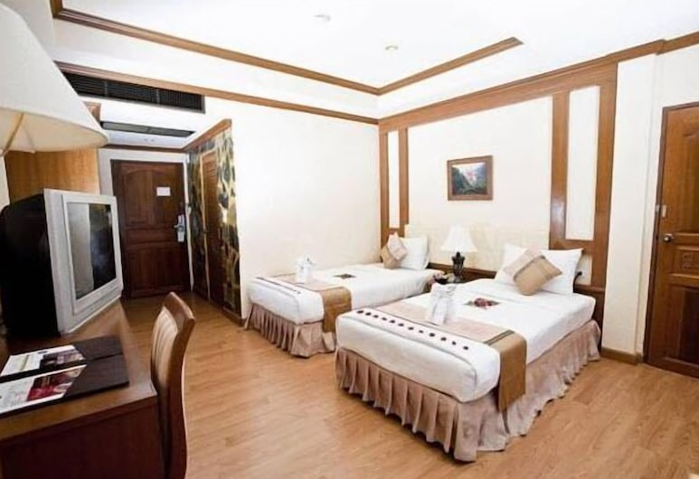 U Tai Tip Guest House, Patong, Standard Twin Room, Guest Room