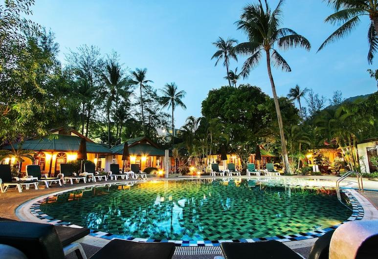 Eden Bungalow Resort, Patongas, Lauko baseinas