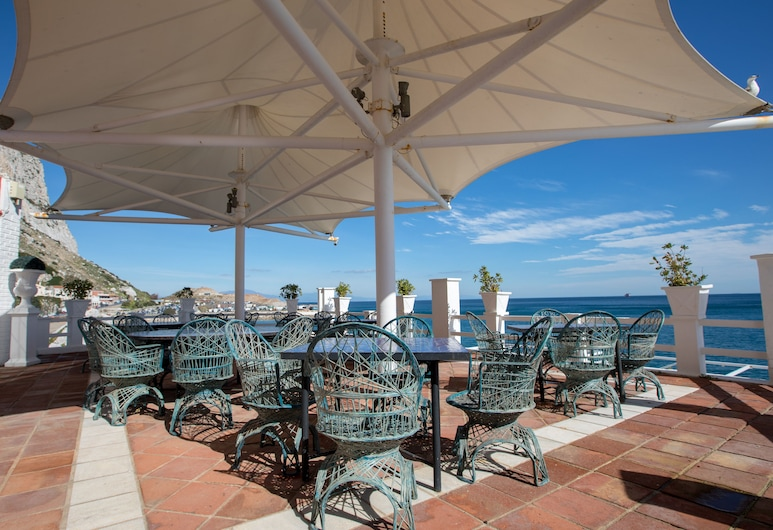The Caleta Hotel Health, Beauty & Conference Centre, Gibraltar, Terrace/Patio