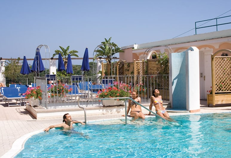 Hotel Bellevue Benessere & Relax, Ischia, Utendørsbasseng