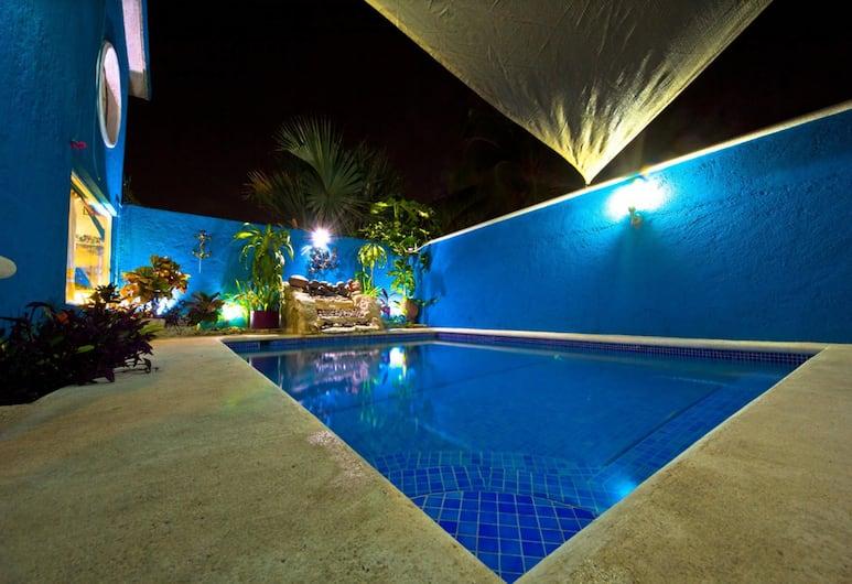 拉斯安克拉斯別墅酒店, 科茲美島, 室外泳池