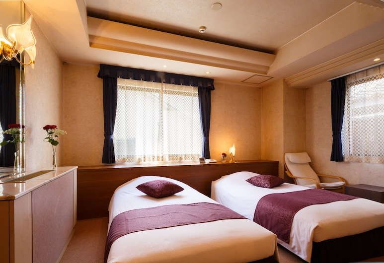 Hotel Sasarindou, Kyoto, Standard Twin Room, Multiple Beds, Smoking, Guest Room