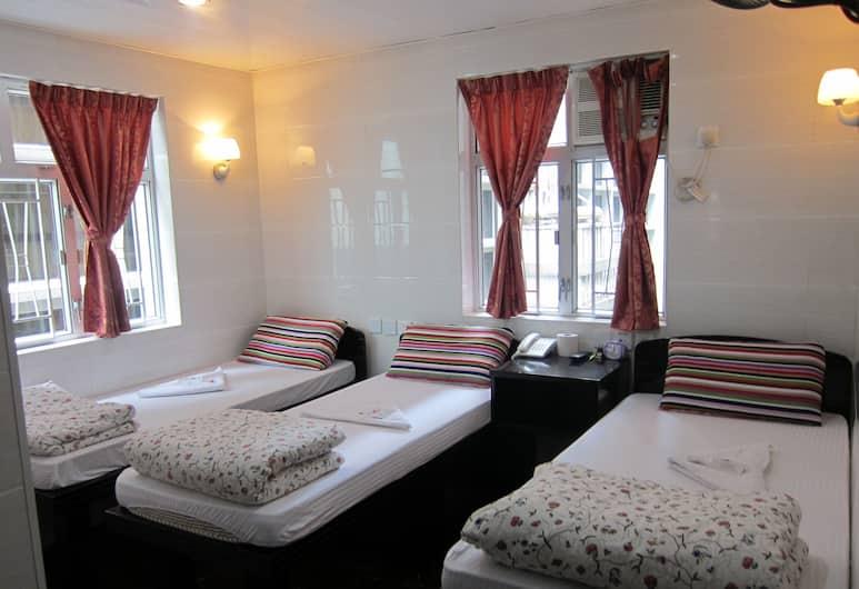 Ashoka Hostel, Kowloon, Triple Room, Bilik Tamu