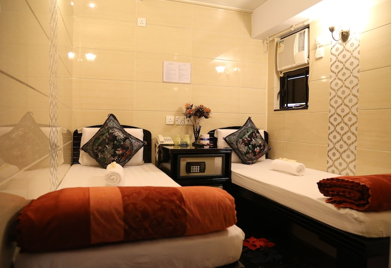 Australian Guest House, Kowloon, Deluxe Twin Room, Guest Room