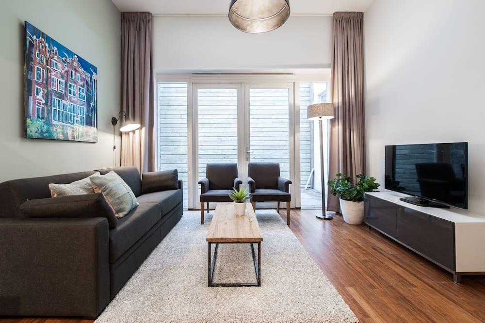 Appartement, 1 lit double et 1 canapé-lit - Salle de séjour