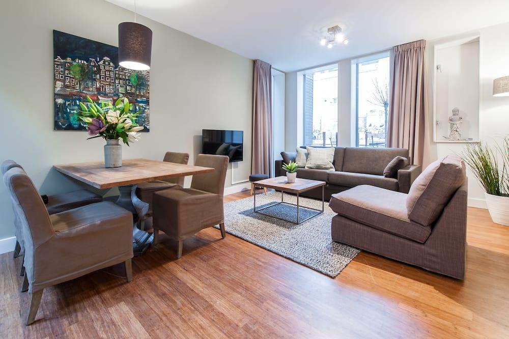 Appartement Deluxe, 1 chambre - Coin séjour