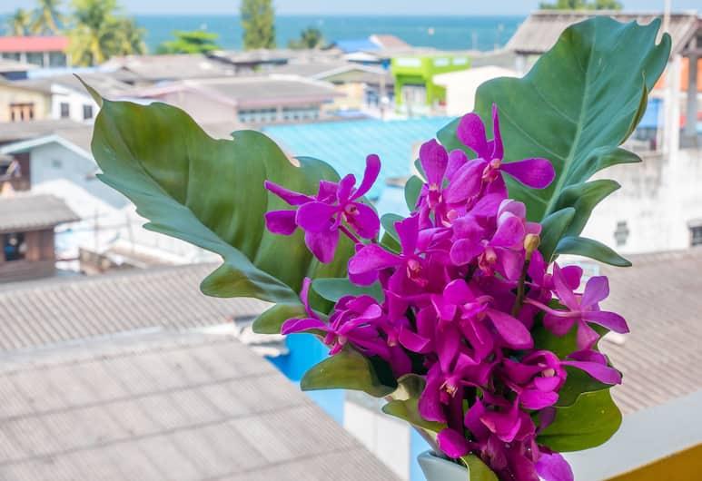 查欣華新酒店, Hua Hin, 高級雙人或雙床房, 露台, 海景, 客房景觀