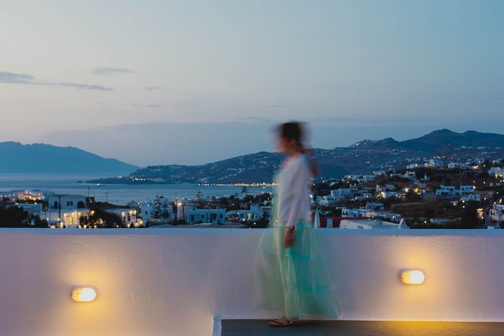 ห้องซูพีเรีย, วิวภูเขา - ลานระเบียง/นอกชาน
