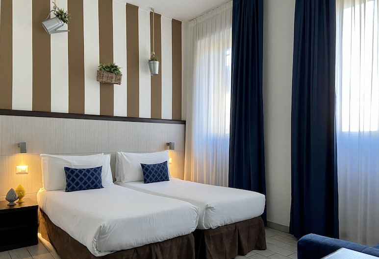 Esco Hotel Milano, Milaan, Kamer, 1 twee- of 2 eenpersoonsbedden, Kamer