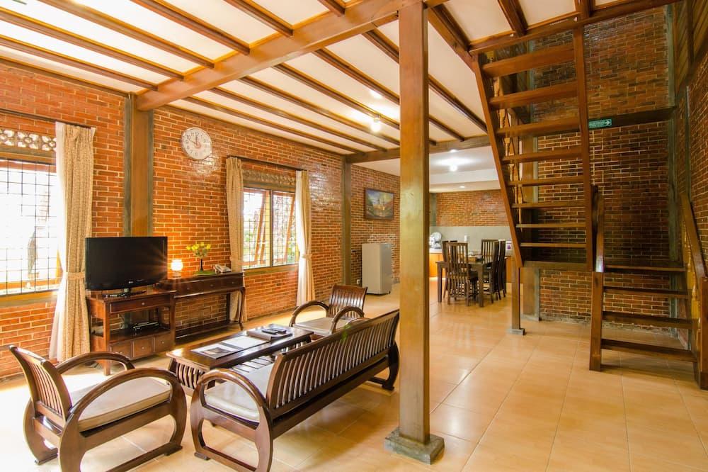 3 Bedroom Superior Villa - Living Area