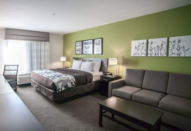 Sleep Inn & Suites Gulfport, Gulfport, Suite, 1 très grand lit, non-fumeurs, Chambre