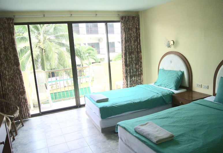 Pineapple Guesthouse, Karon, Classic Twin Room, 2 Single Beds, Guest Room