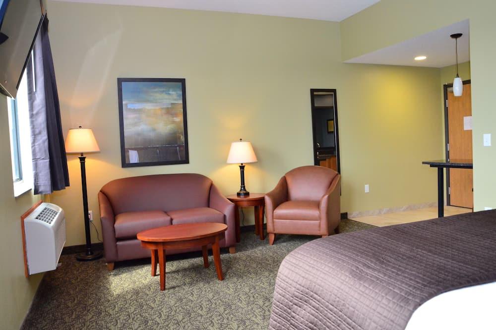 Apartament typu Suite, Łóżko king, dla niepalących - Powierzchnia mieszkalna