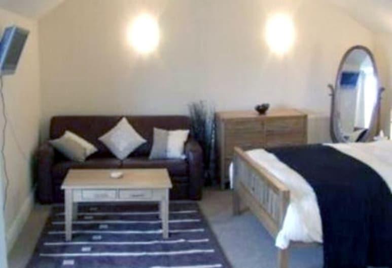 Dolphin Tavern, Penzance, Habitación doble estándar, baño privado, vista al puerto, Habitación