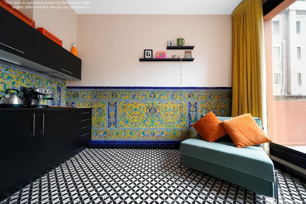 Studio, Terrace - Living Area