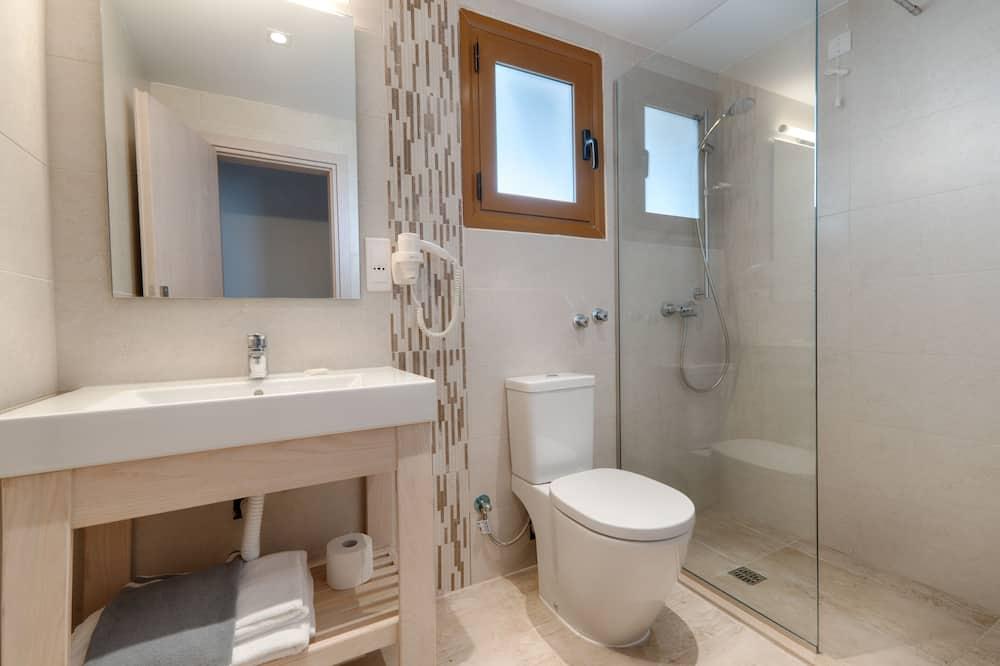 標準雙人或雙床房, 花園景觀 - 浴室