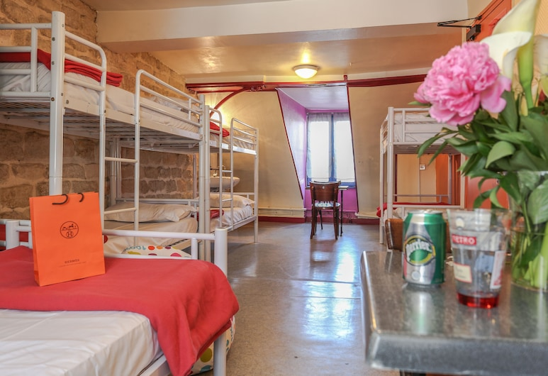 Young & Happy Latin Quarter by Hiphophostels, Paris, Gemeinsamer Schlafsaal, Gemeinschaftsbad (1 bed in a dormitory of 10), Zimmer