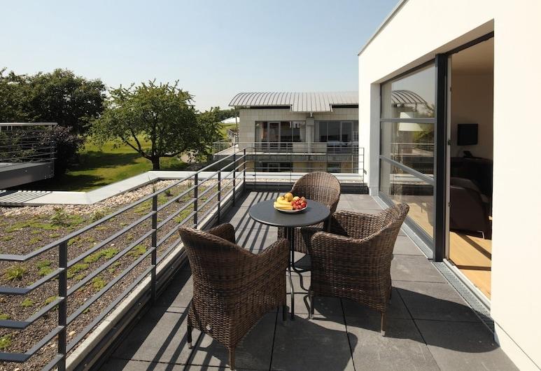 GolfHotel Gut Neuenhof, Frėndenbergas, Dvivietis kambarys (1 asmeniui) su patogumais, Terasa / vidinis kiemas